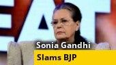 Crisis along LAC attributable to mismanagement of Modi govt: Sonia Gandhi