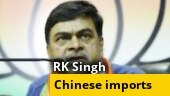 Will increase custom duty on Chinese imports: Power Minister RK Singh