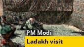 WATCH: PM Modi reaches Ladakh, interacts with soldiers
