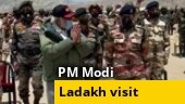 WATCH: PM Modi visits military hospital in Leh to meet injured soldiers