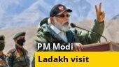 Political faceoff over PM Narendra Modi's Ladakh visit