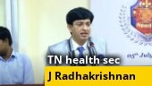 Watch interview of Tamil Nadu health secretary Radhakrishnan as state records over 1 lakh Covid-19 cases