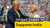 US supports India against China