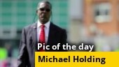 Image of the day: Michael Holding's message on racism goes viral