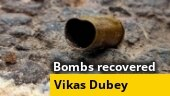 7 bombs recovered from location owned by Vikas Dubey