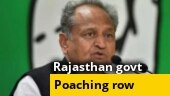 Rajasthan Chief Minister Ashok Gehlot accuses BJP of poaching