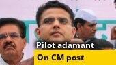 Sachin Pilot adamant, demands removal of Ashok Gehlot