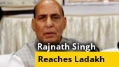 Defence Minister Rajnath Singh reaches Ladakh for 2-day visit