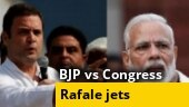 Credit war breaks out between BJP and Congress over Rafale fighter jets