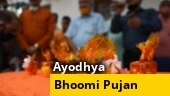 Exclusive visuals from inside makeshift Ram temple ahead of Ayodhya Bhoomi Pujan
