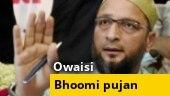 Asaduddin Owaisi slams Priyanka Gandhi over her statement on bhoomi pujan