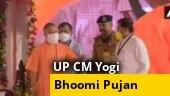 Yogi Adityanath reaches Ayodhya ahead of Ram Mandir Bhoomi Pujan event