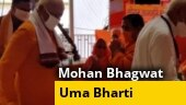 Uma Bharti, other invitees arrive as Ayodhya gears up for Ram temple ceremony