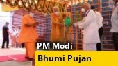 WATCH: PM Modi lays foundation stone at Ram temple in Ayodhya