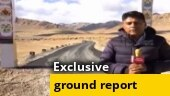Exclusive: Watch ground report from the road that angers China