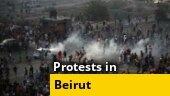 Protests erupt in Lebanon as anger over Beirut blast grows