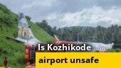 What happened to Air India Kozhikode flight before crash?