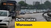 Delhi rains: Heavy downpour leads to waterlogging, major traffic snarls