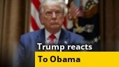 Trump reacts to Obama's criticism, calls him 'ineffective' as president