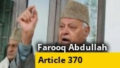 Revocation of Article 370 was a surprise: Former J&K CM Farooq Abdullah | EXCLUSIVE