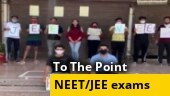 NEET & JEE exams during Covid-19 pandemic, floods safe?