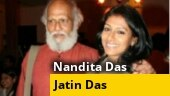 WATCH: Nandita Das with father Jatin Das in candid conversation with Rajdeep Sardesai
