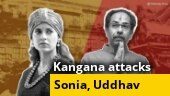Kangana to Sonia: Aren't you anguished by Maha govt's action