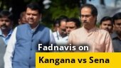 Devendra Fadnavis tells Uddhav Thackeray govt to fight corona, not Kangana