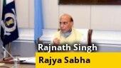 Rajnath Singh to speak on India-China dispute in Rajya Sabha today
