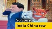 So Sorry: Gusse me laal Jinping behal
