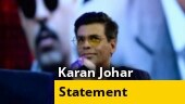 Bollywood drug probe: Karan Johar speaks out about allegations