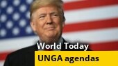 Agendas at United Nations General Assembly; US sanctions on Iran; more