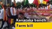 Karnataka Bandh: Protests across state against farm bills