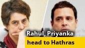 Chaos at Delhi-Noida border as Priyanka, Rahul Gandhi head to Hathras