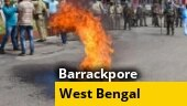 Tyres burnt, roads blocked: BJP workers protest against killing of party leader in West Bengal