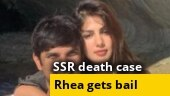 SSR death case: Rhea Chakraborty gets bail, her brother Showik's plea rejected