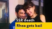 SSR death: Bombay High Court grants bail to Rhea Chakraborty