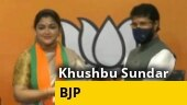 Khushbu Sundar joins BJP hours after resigning from Congress