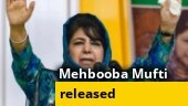Mehbooba Mufti released, vows to fight to restore Article 370 in J&K