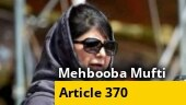 PDP chief Mehbooba Mufti released: Will continue struggle for restoration of Article 370