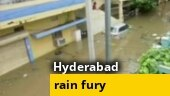 Monsoon mayhem: Heavy rainfall cripples Hyderabad | Ground Report