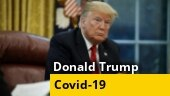 Donald Trump evades question on coronavirus testing