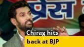Bihar Election 2020: LJP chief Chirag Paswan 'disappointed' with BJP's 'vote-cutter' jibe