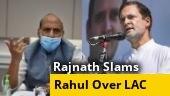 Rajnath Singh slams Rahul Gandhi over his 'misleading' China claims