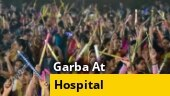 Image of the day: Coronavirus patients perform garba on Kamariya at Mumbai facility