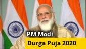 WATCH: PM Narendra Modi to inaugurate Durga Puja pandal in Kolkata virtually