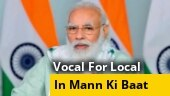 PM Modi urges citizens to go 'vocal for local' during festival shopping