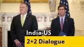 Mike Pompeo, Mark Esper leave for New Delhi for Tuesday's India-US 2+2 dialogue