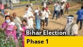 Bihar election phase 1: Polling begins in 71 seats