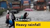 Heavy rains lash Chennai, waterlogging in parts of city